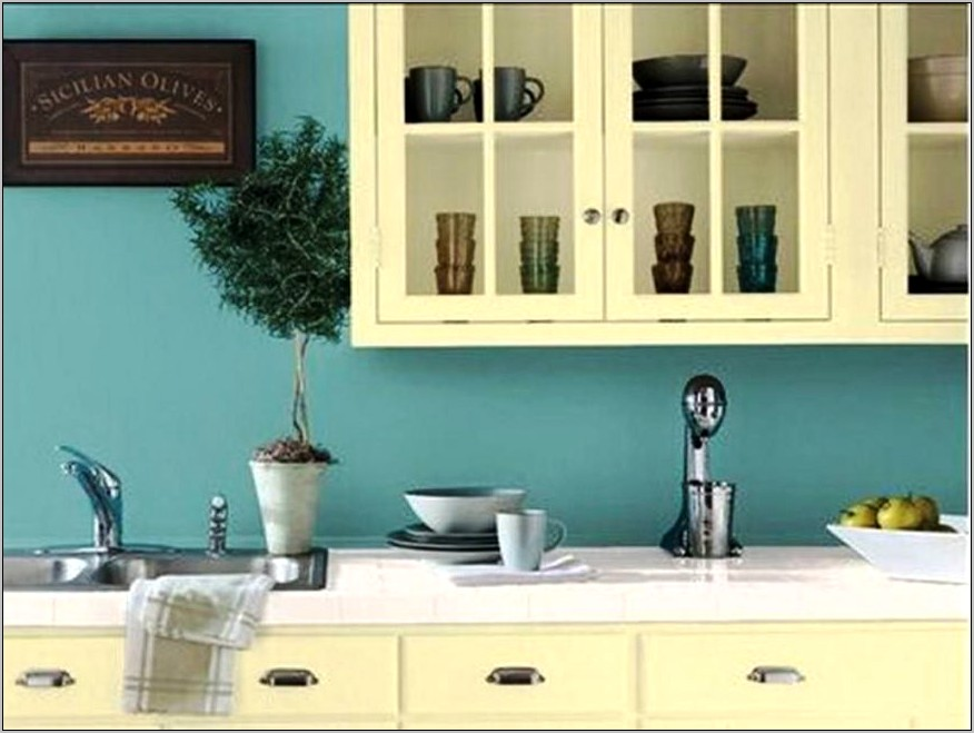 Teal And Green Kitchen Decor