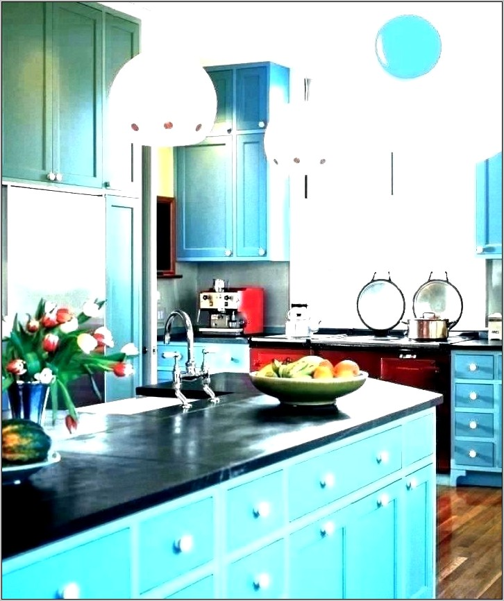 Teal Kitchen Decor And Accessories