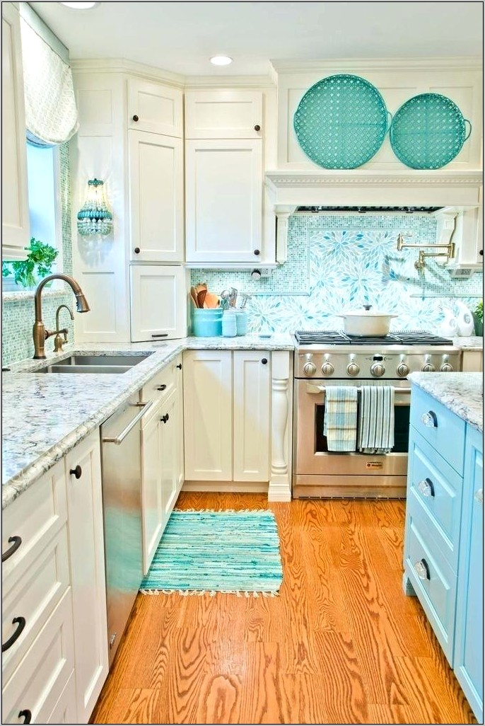 Teal Kitchen Decor For Walls