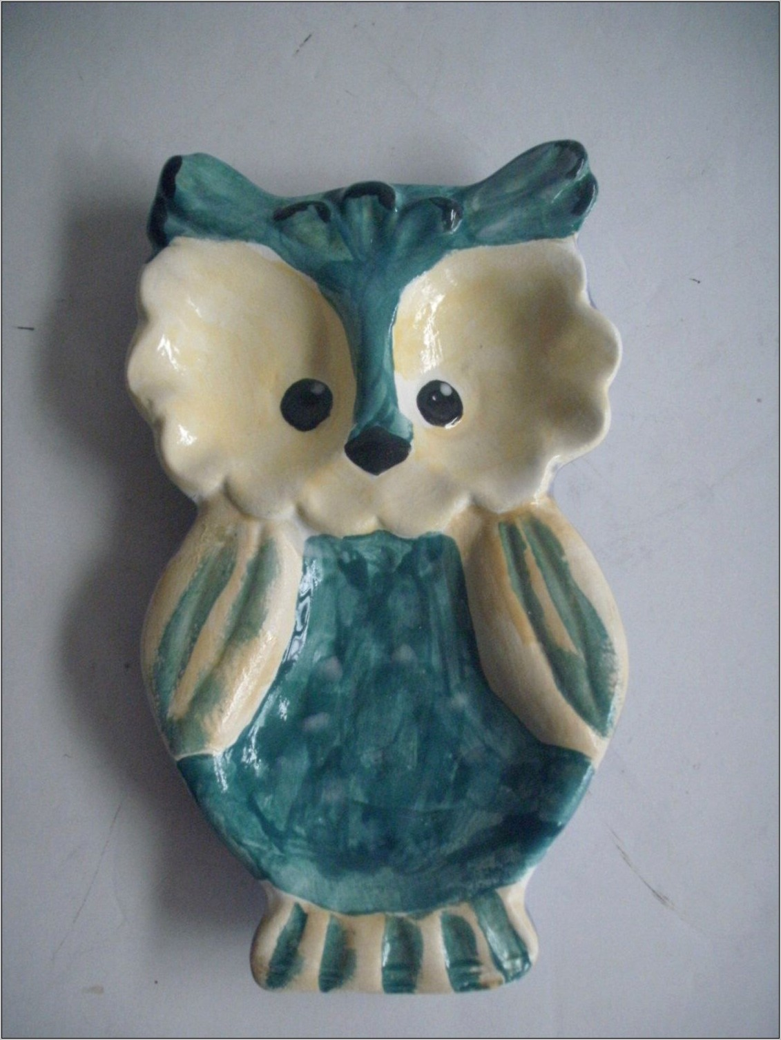 Teal Owl Kitchen Decor
