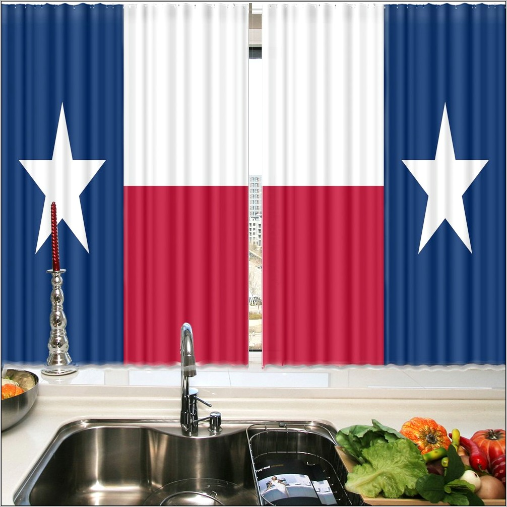 Texas Flag Kitchen Decor