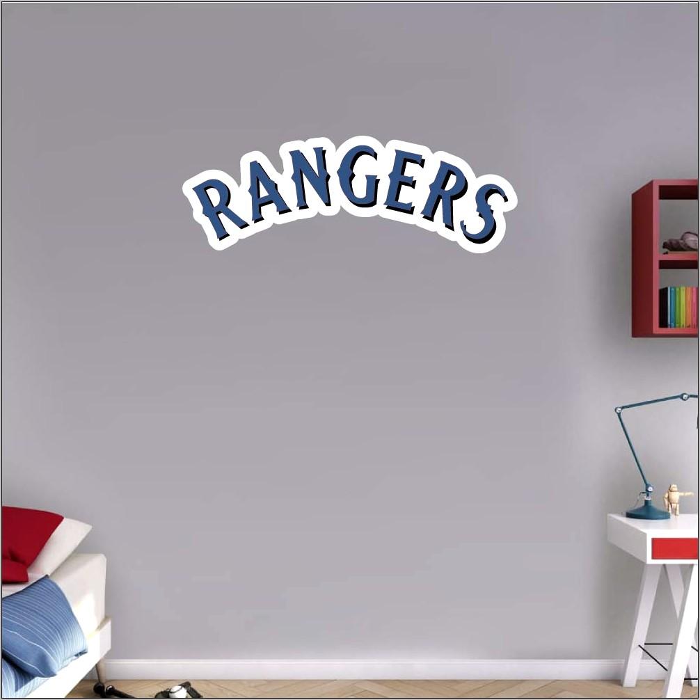 Texas Rangers Kitchen Decor