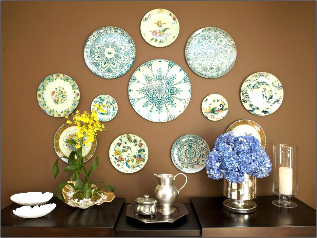 The Family Kitchen Glass Decore Plate