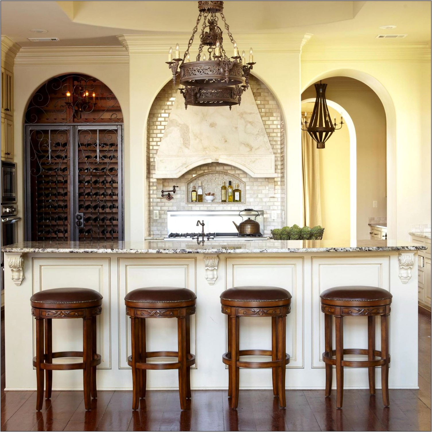 Traditional French Kitchen Decor