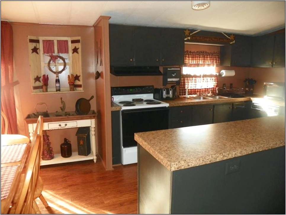 Trailer House Decorating Areas Kitchen Livingroom