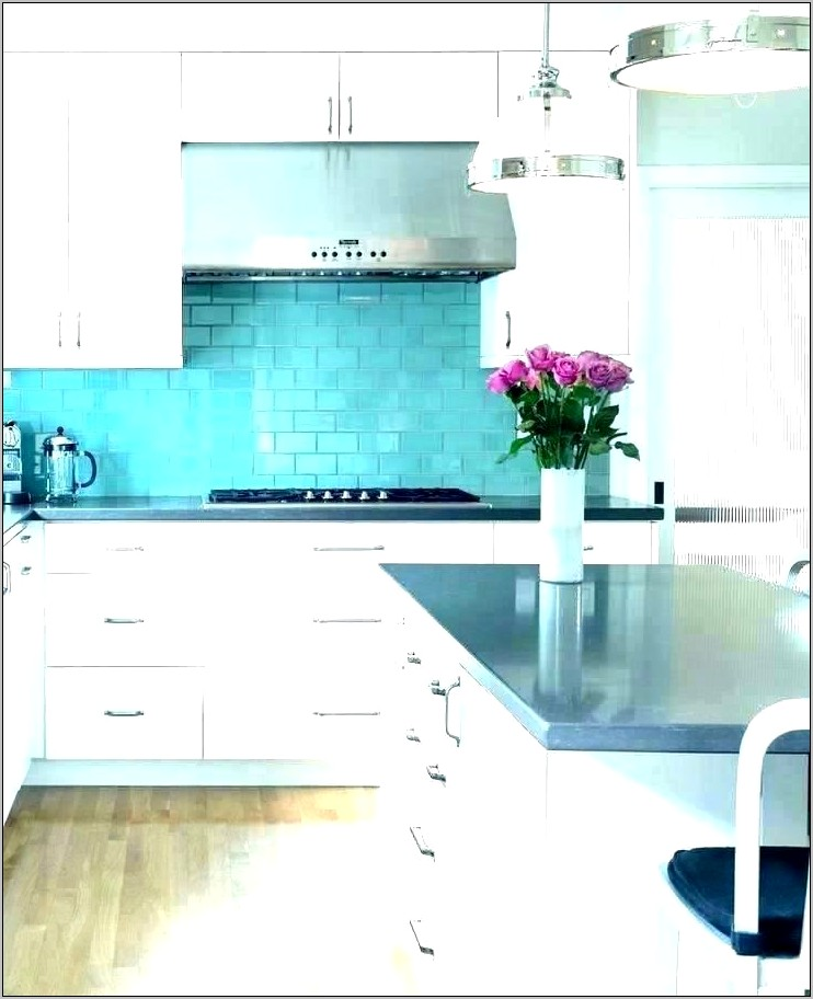 Turquoise And Coral Kitchen Decor