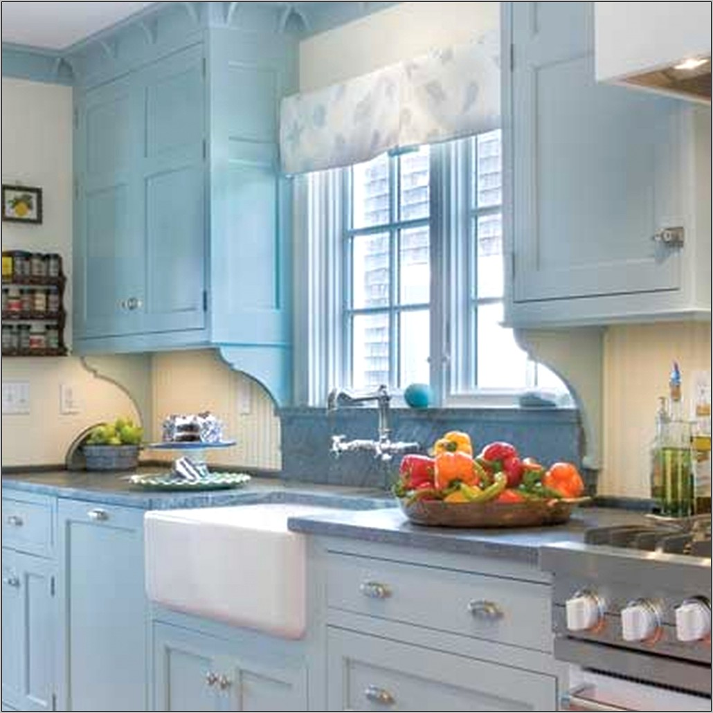 Turquoise And Green Kitchen Decor