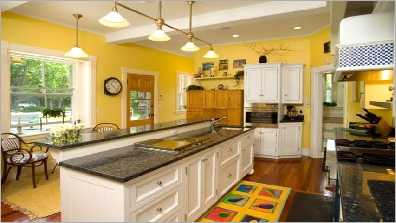 Turquoise And Yellow Kitchen Decor