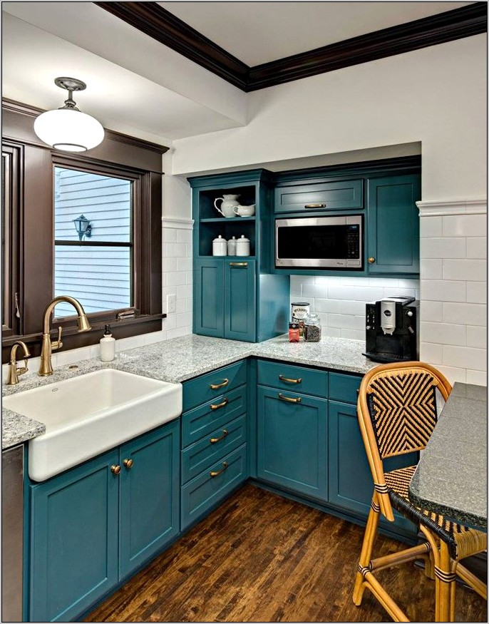 Turquoise Teal Kitchen Decor