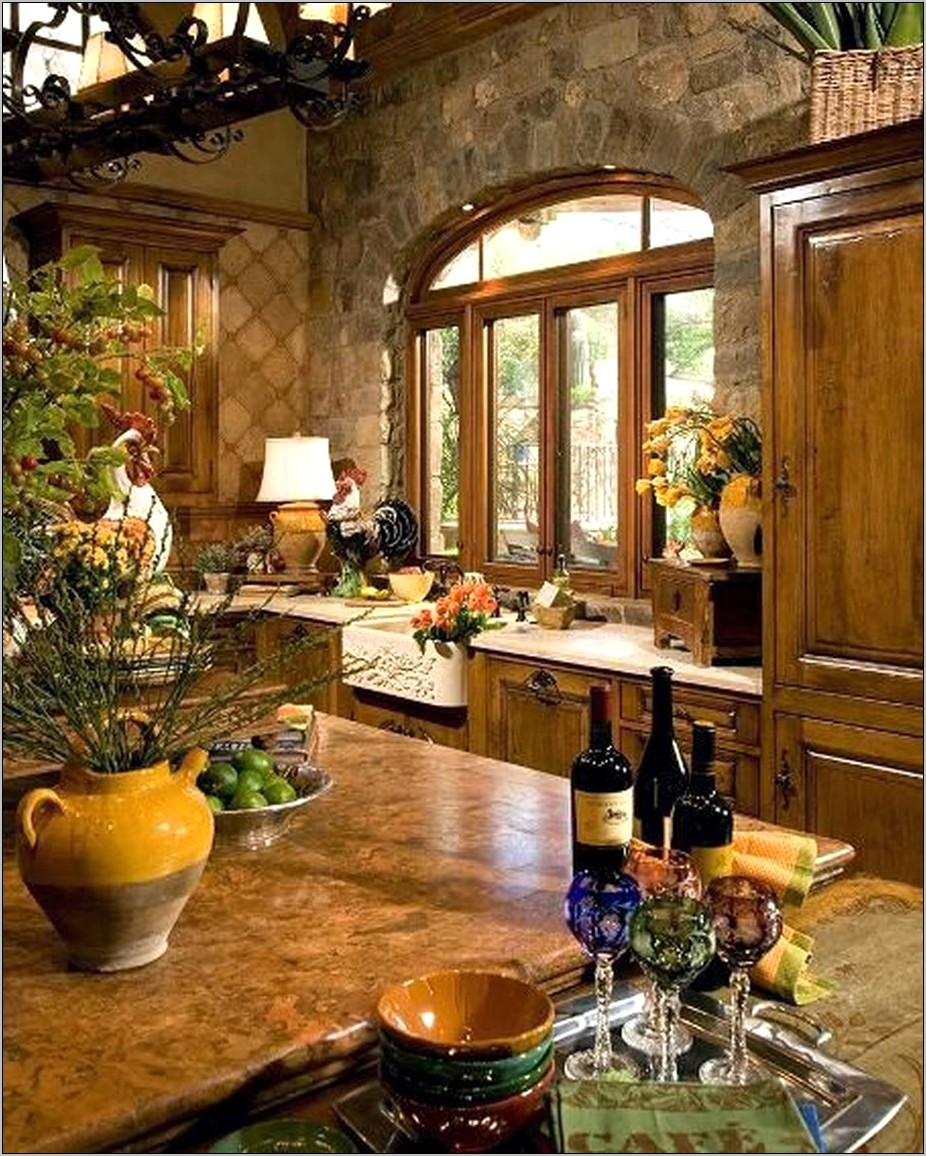 Tuscan Decorations For Kitchen