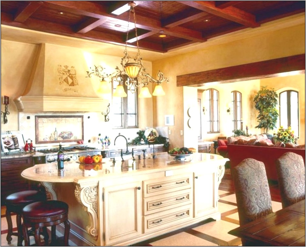 Tuscan Inspired Kitchen Decor