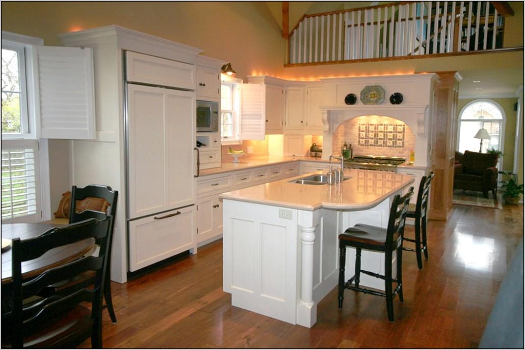 U Shaped Kitchen Decorating
