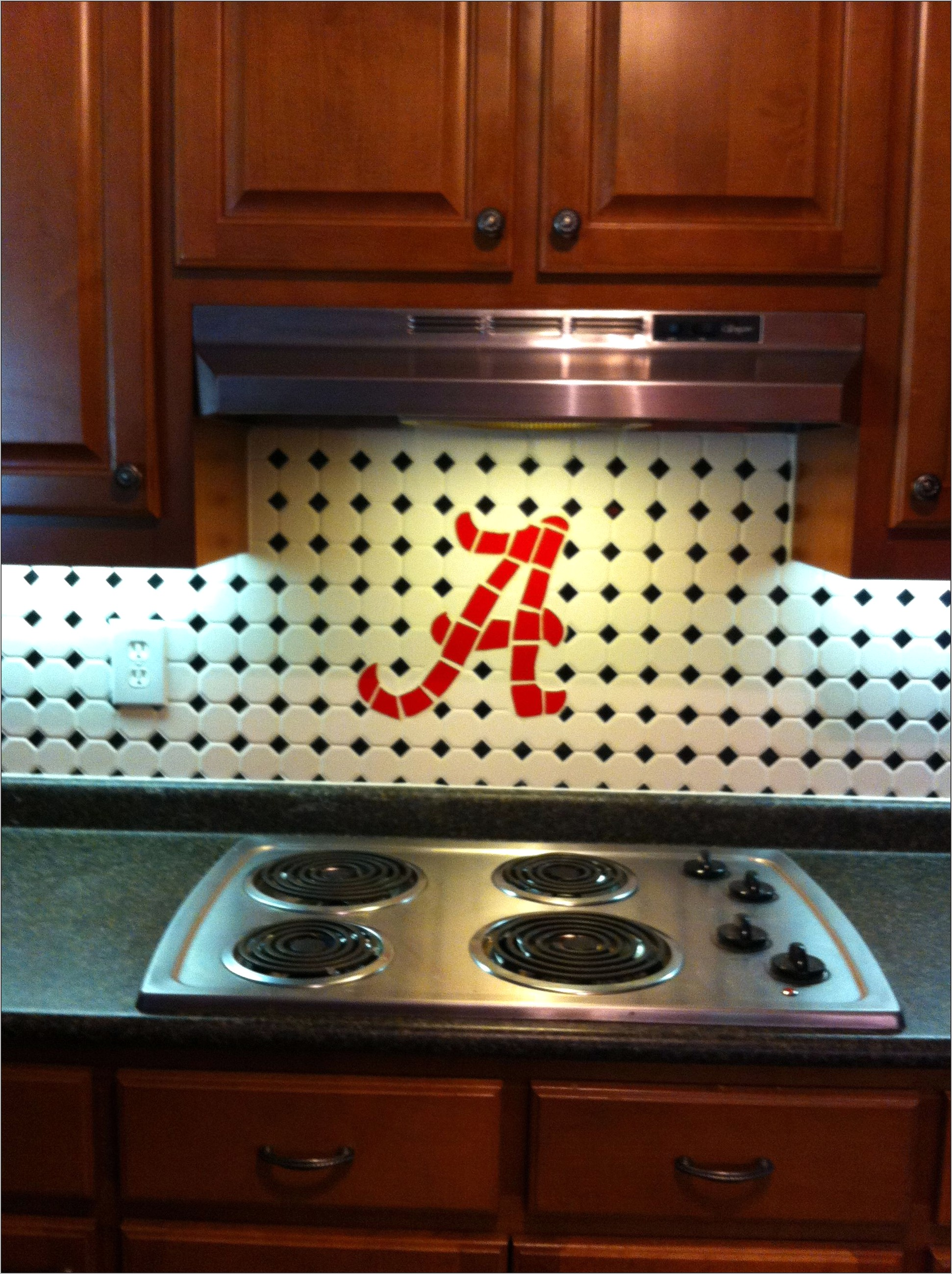 University Of Alabama Kitchen Decor
