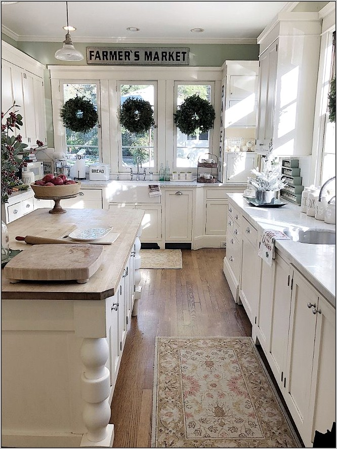 Victorian Farm Victorian Farmhouse Kitchen Decor Ideas