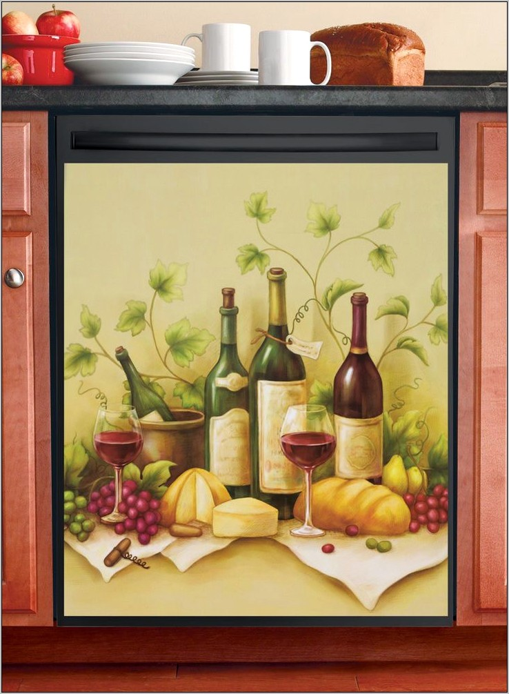 Vineyard Wine Kitchen Decor
