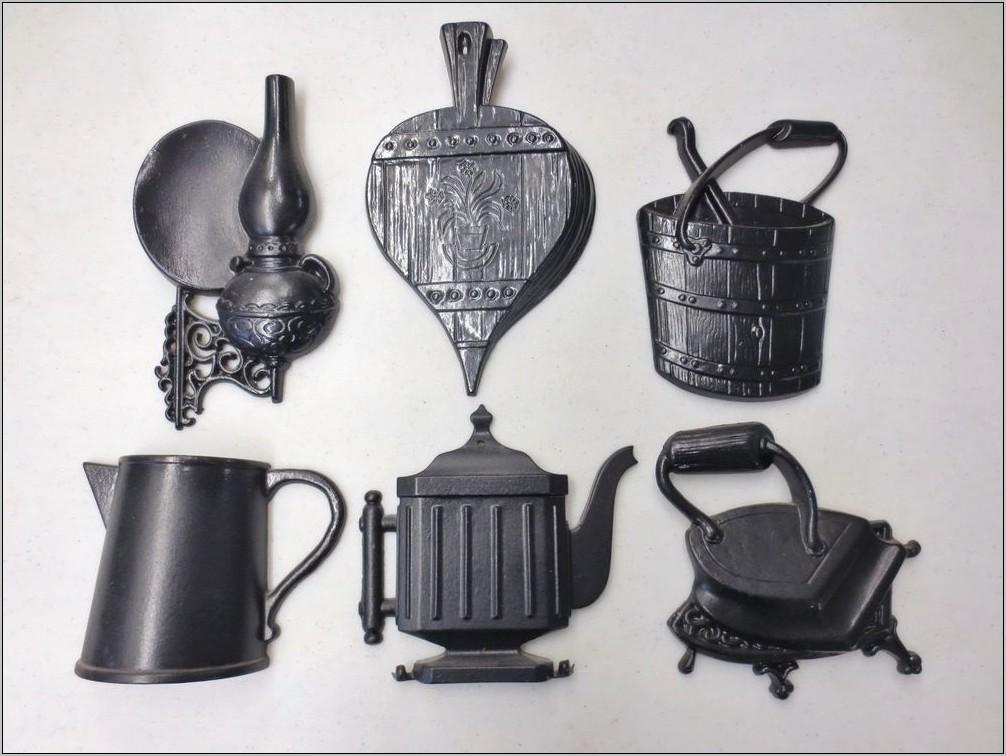 Vintage Cast Iron Kitchen Decor
