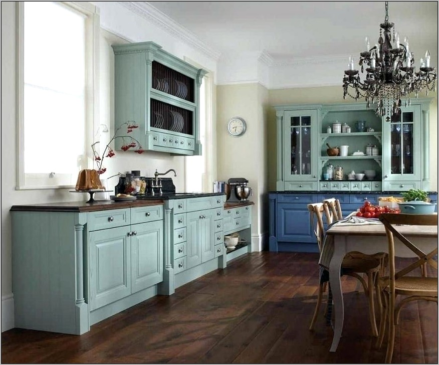 Vintage Country Kitchen Decorating Ideas