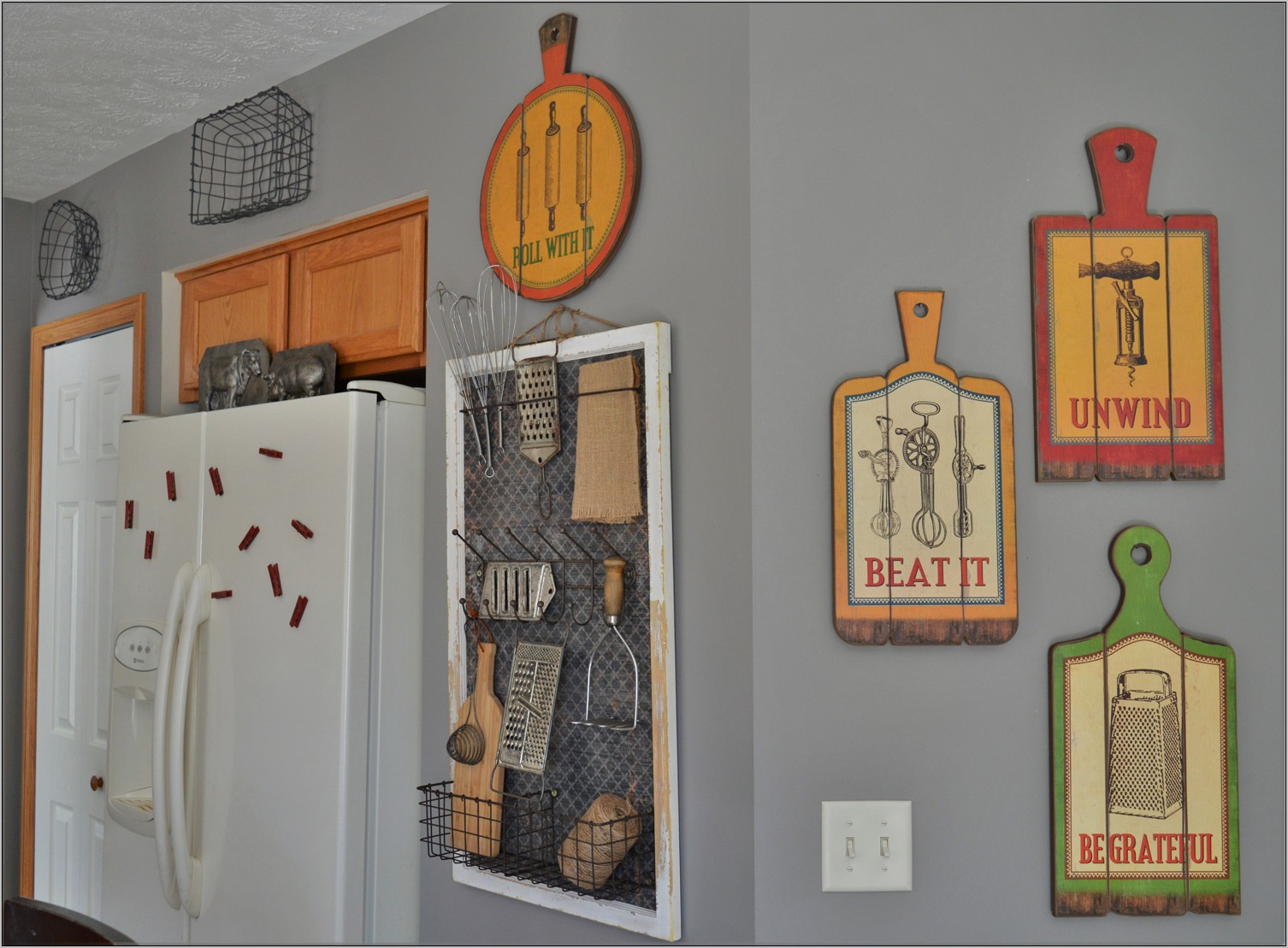 Vintage Kitchen Wall Decoration