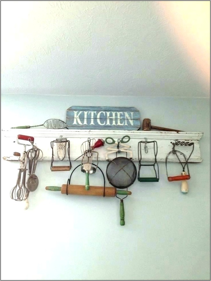 Vintage Large Wall Decor Kitchen