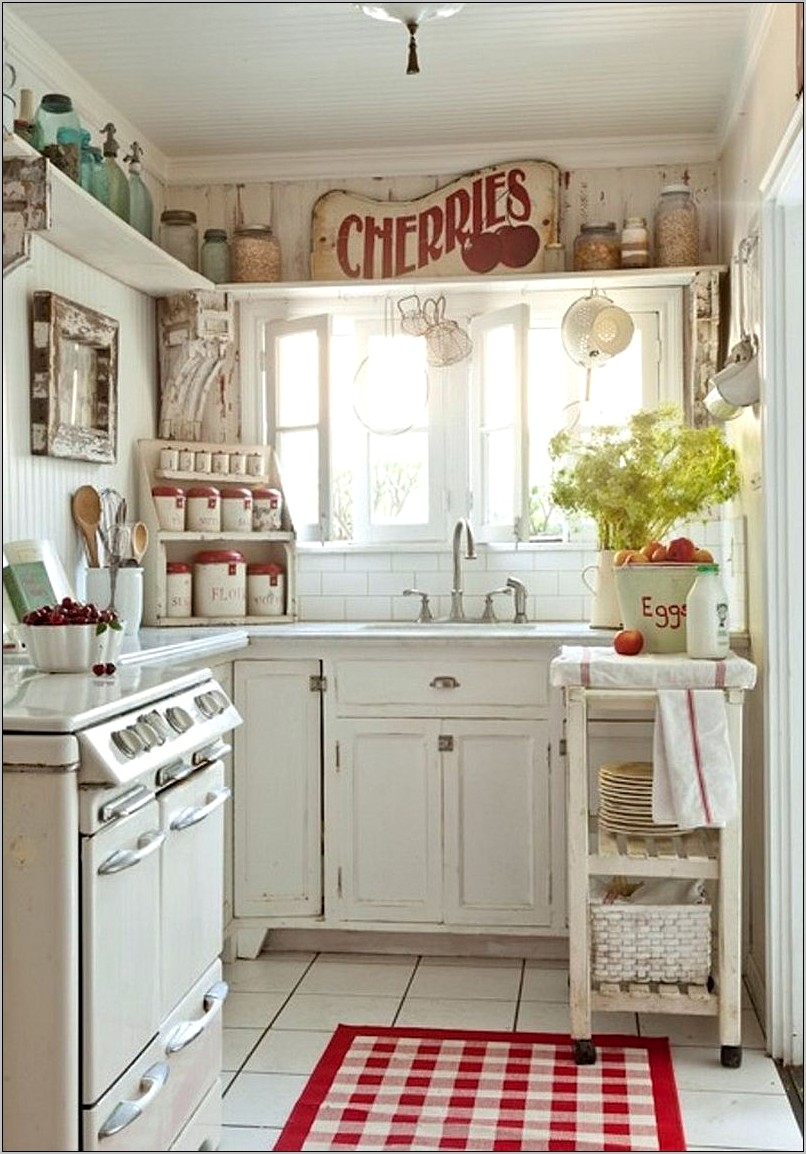 Vintage Shabby Chic Kitchen Decor
