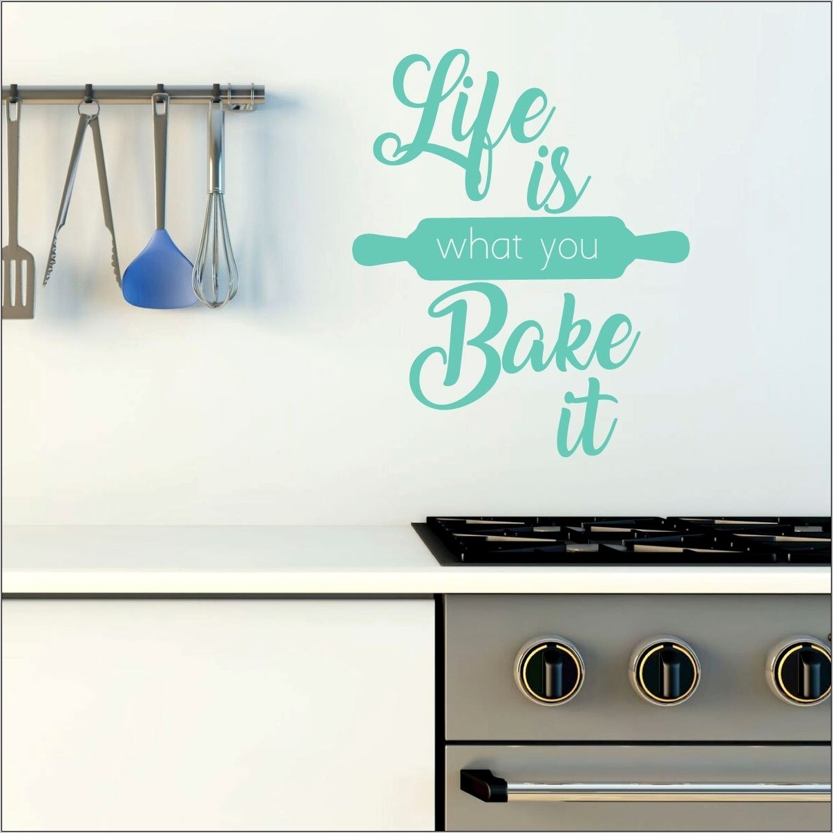 Vinyl Wall Decor Kitchen