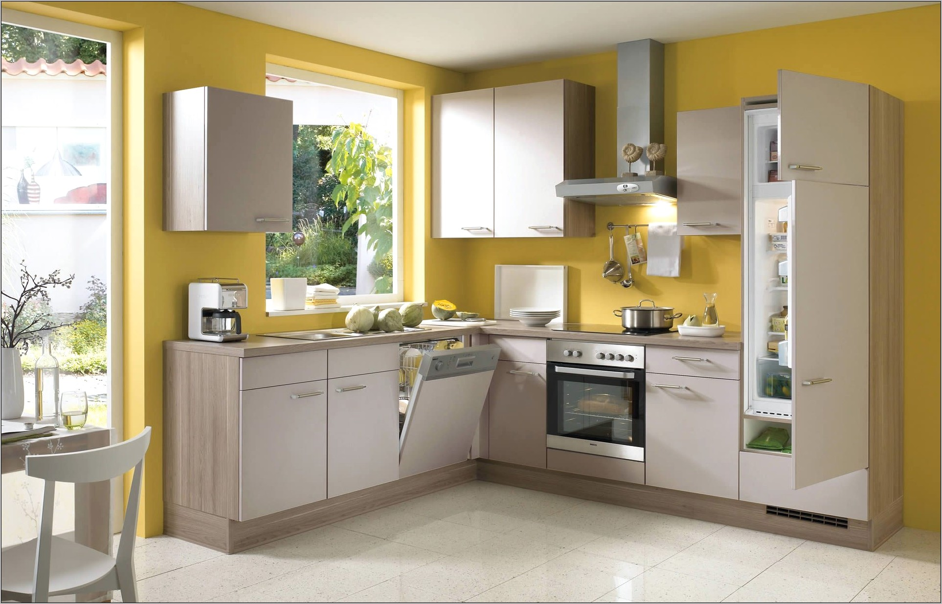 Wall Decor For Kitchen In Yellow