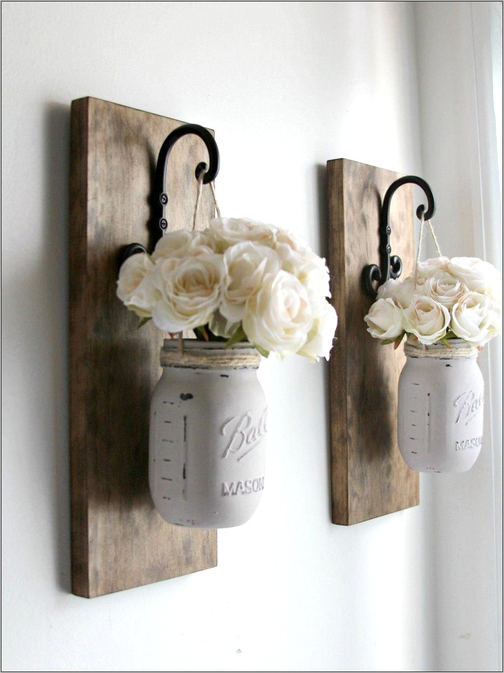 Wall Kitchen Decor Mason Jars