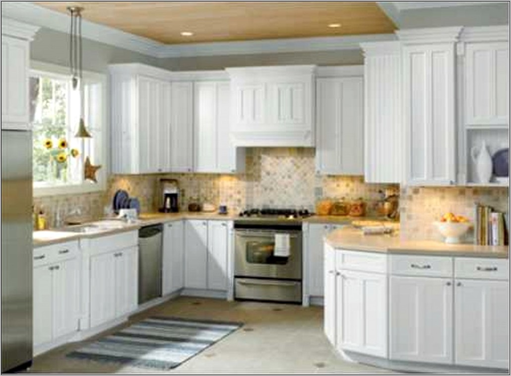 White Home Decor Kitchen Cabinets Home Depot