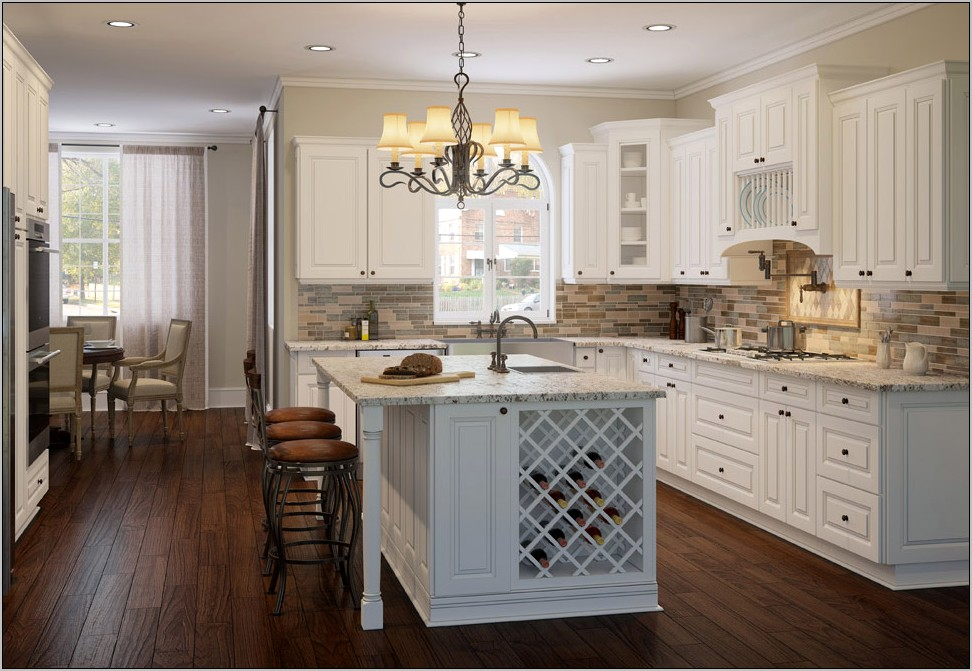 White Kitchen Cabinets With Decorative Fillers