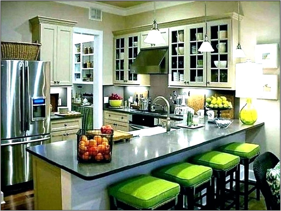 White Kitchen Counter Decor Ideas
