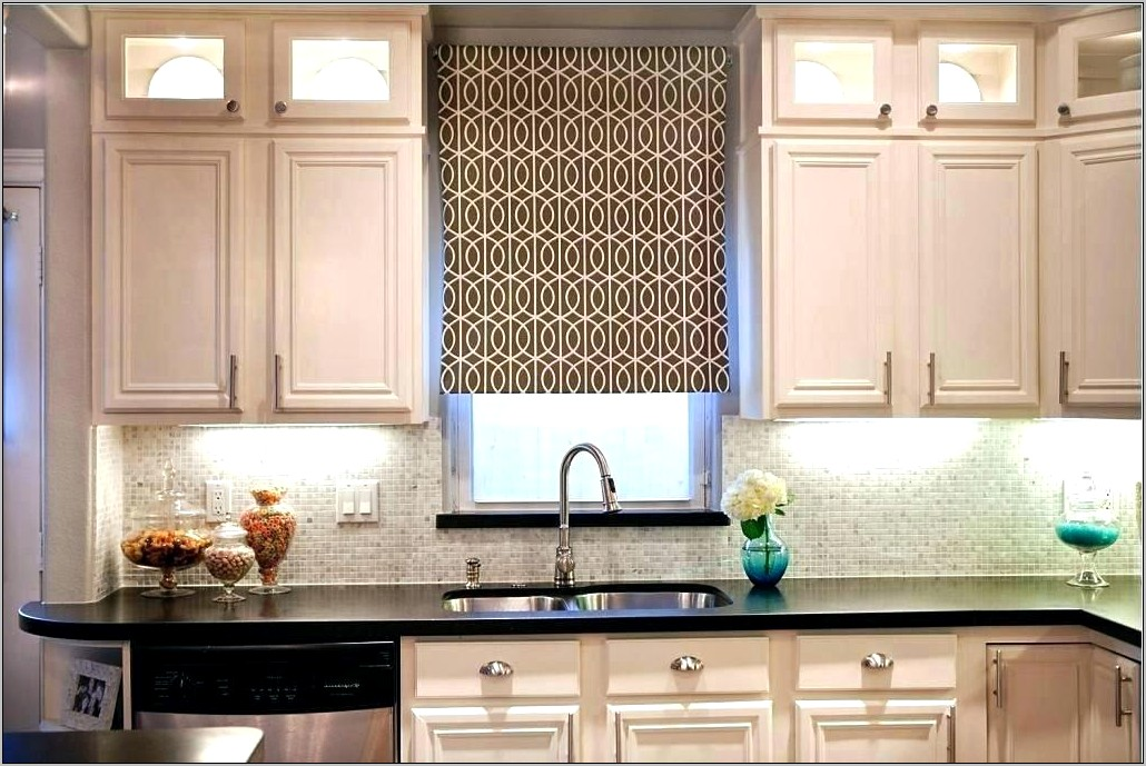 Window Over Kitchen Sink Decoration Ideas