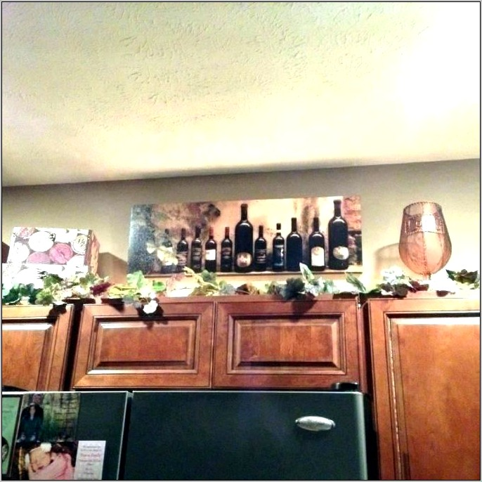 Wine Themed Kitchen Decor Ideas