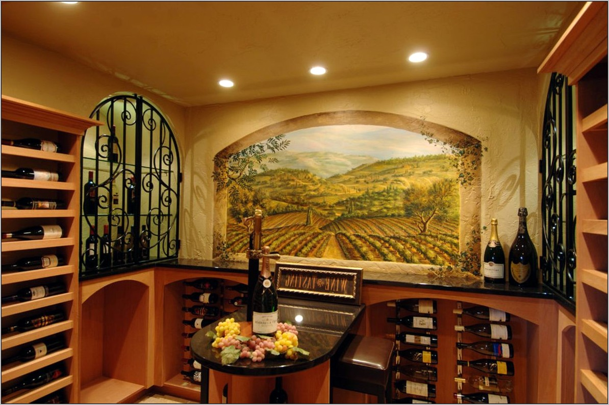 Wine Themed Kitchen Decoration Ideas