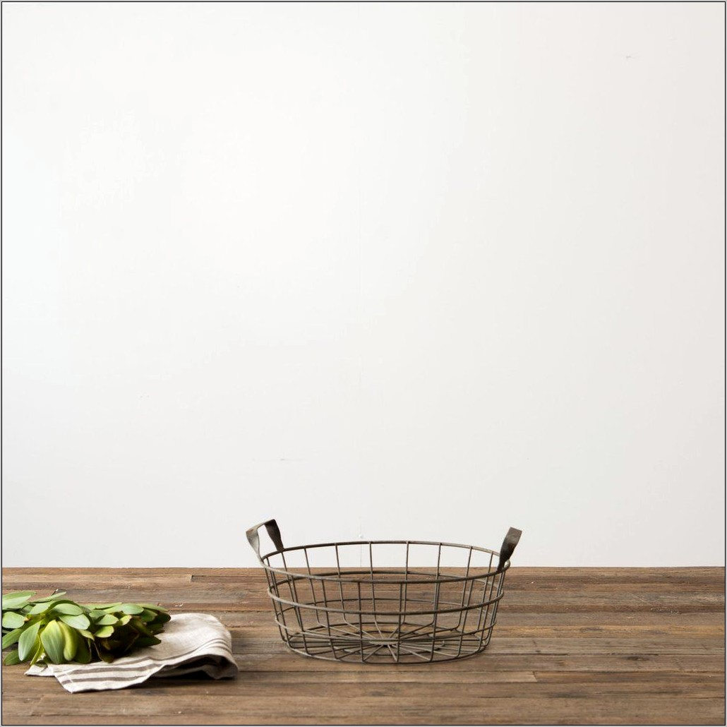 Wire Basket Kitchen Decor Ideas