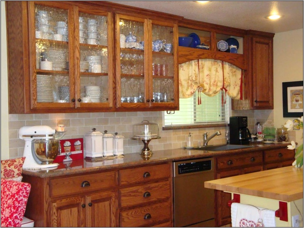 Wood Decorations On Kitchen Cabinets
