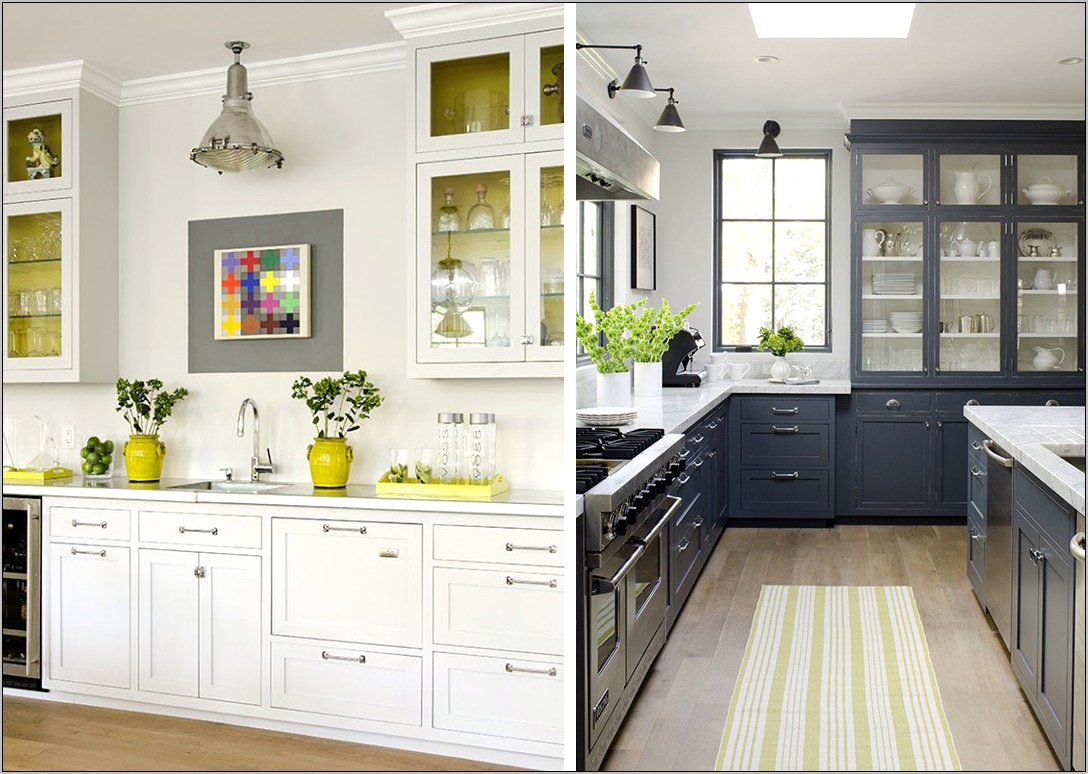 Yellow And Gray Kitchen Decor