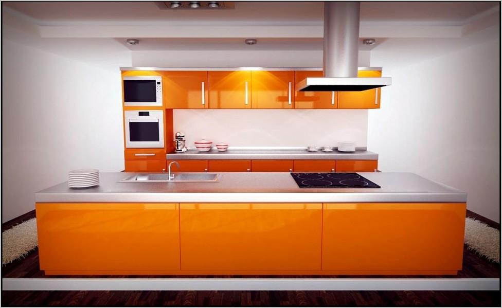 Yellow And Orange Kitchen Decor