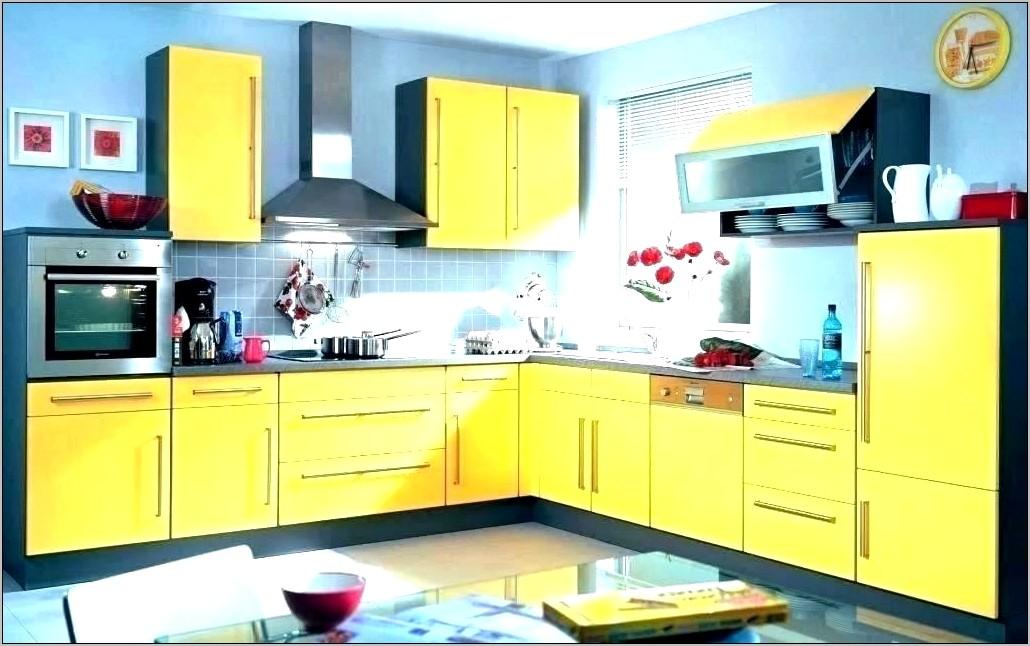 Yellow Kitchen Decor Curtains