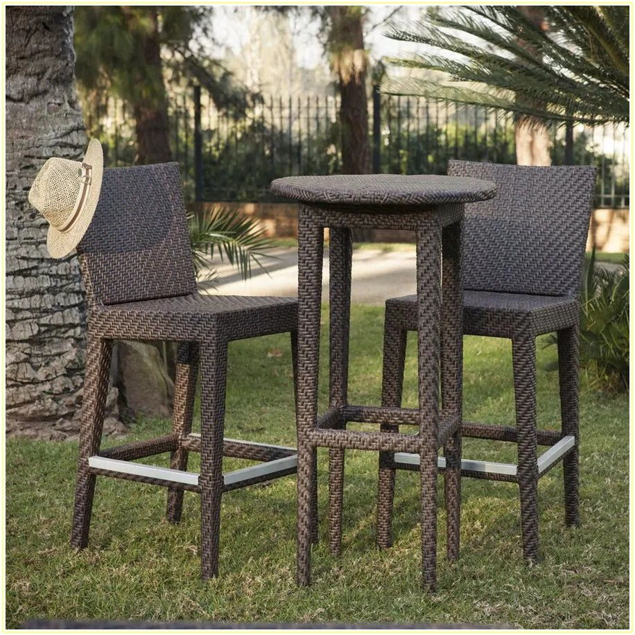 3 Piece Patio Dining Set