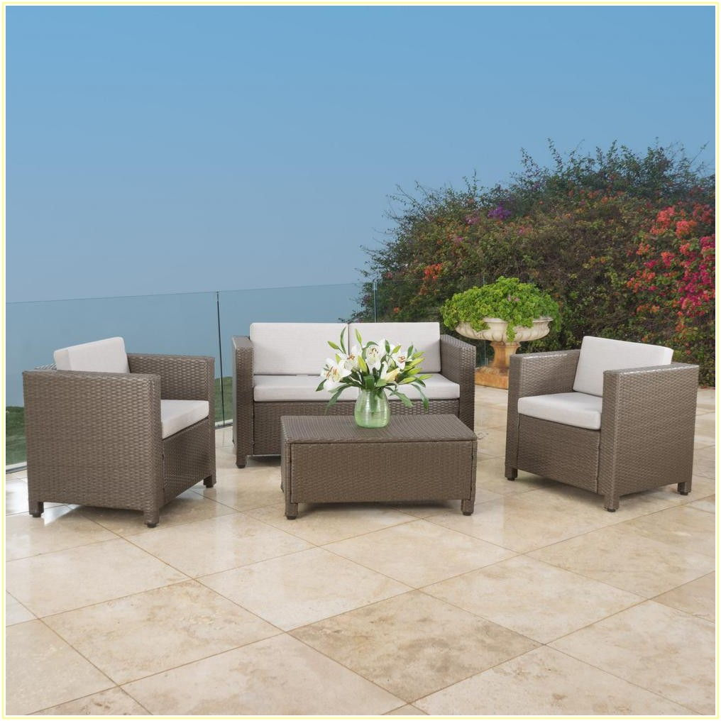 4 Piece Patio Set Cover