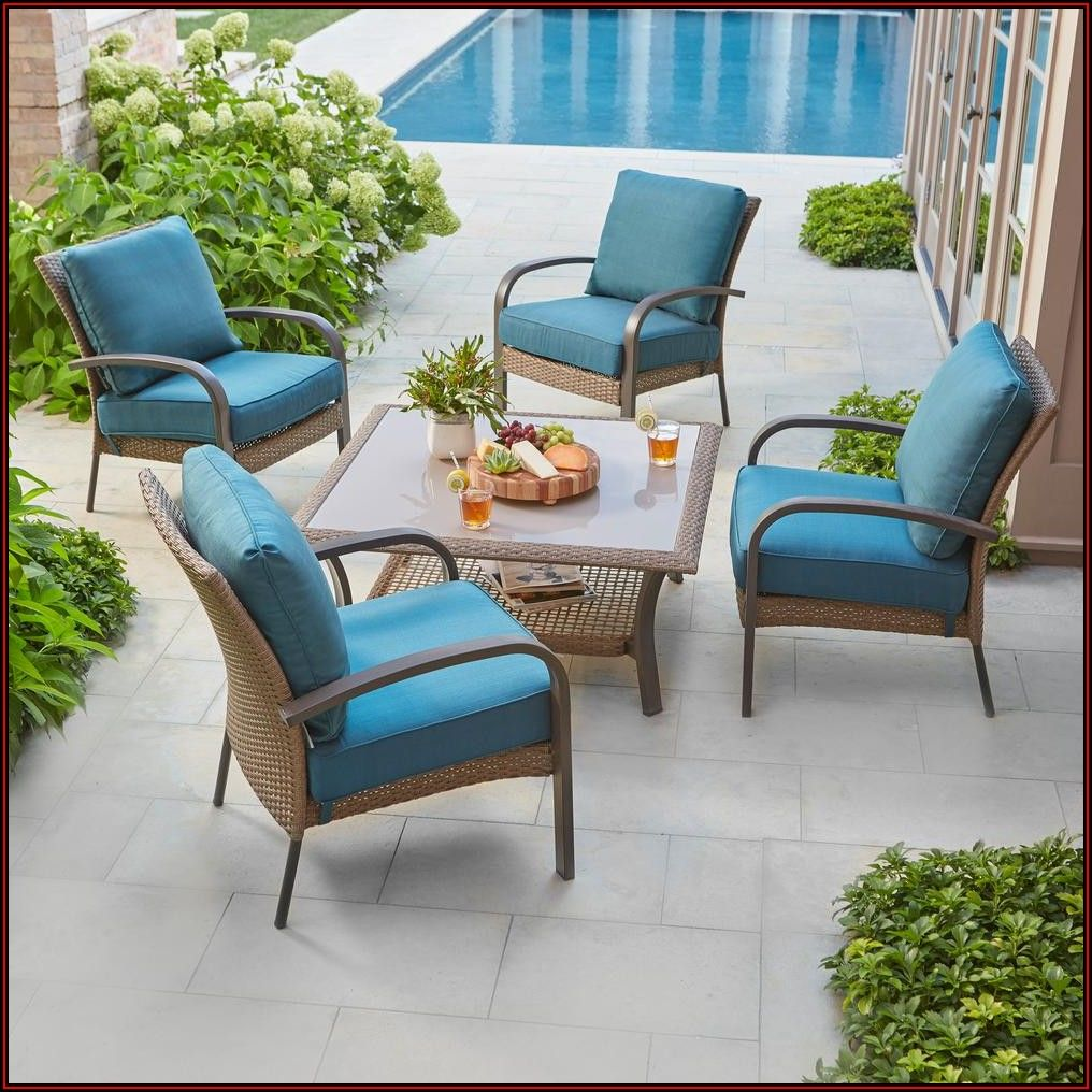 5 Piece Conversation Patio Set