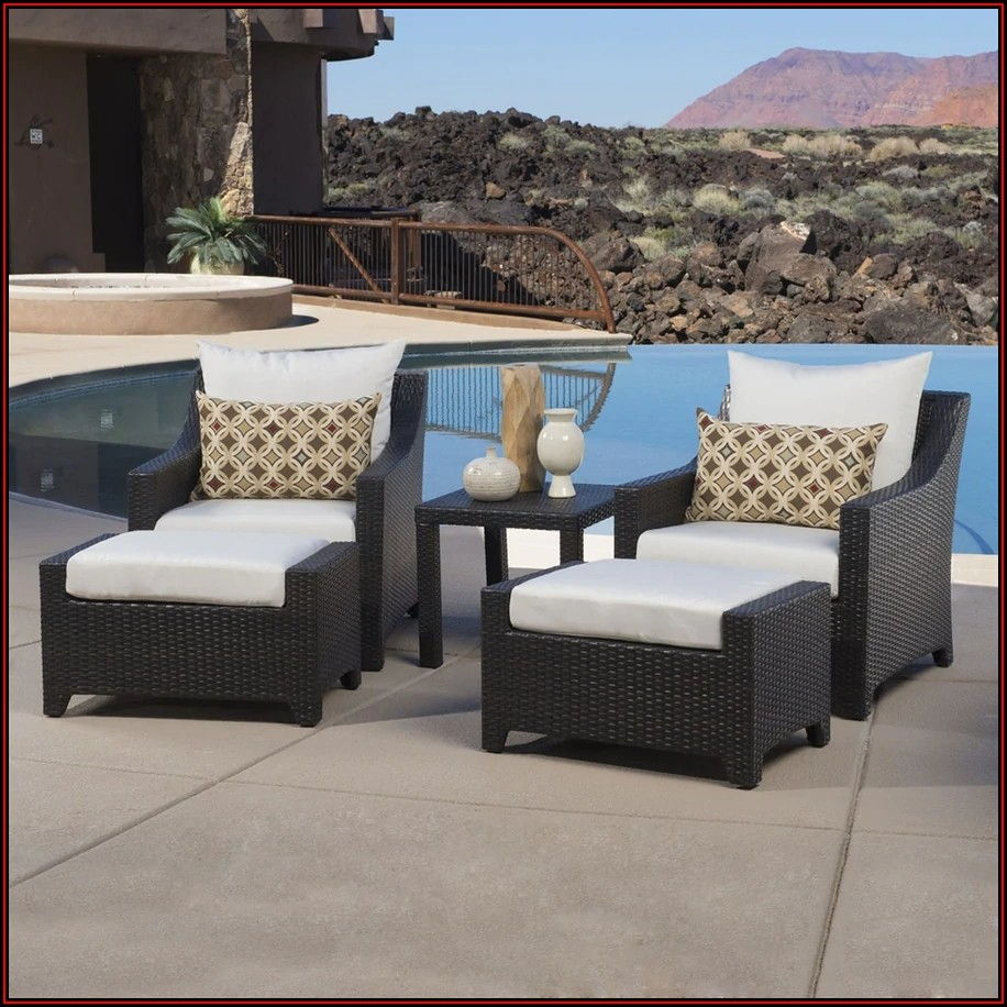 5 Piece Patio Conversation Set