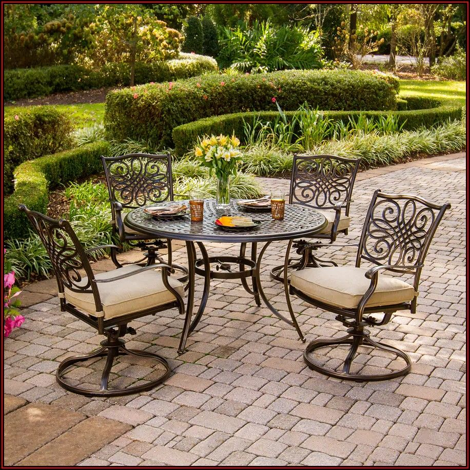 5 Piece Patio Furniture Set