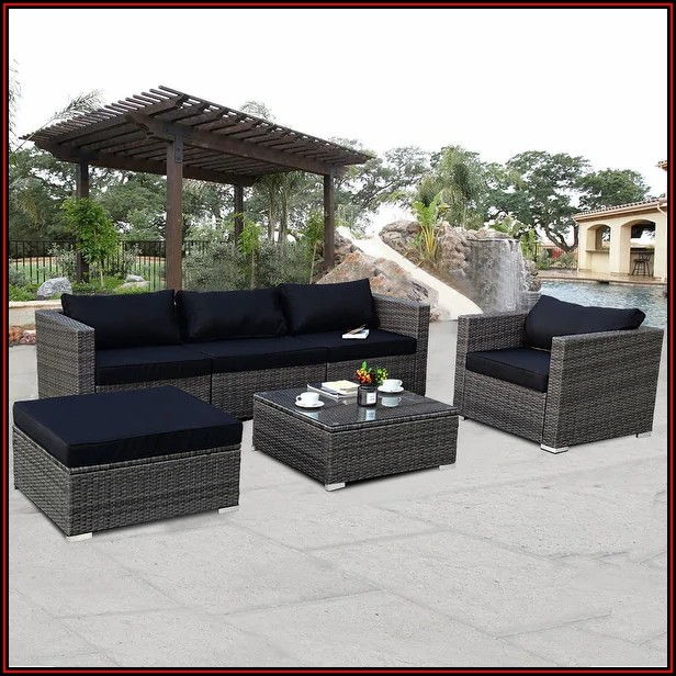 6 Piece Patio Furniture Set