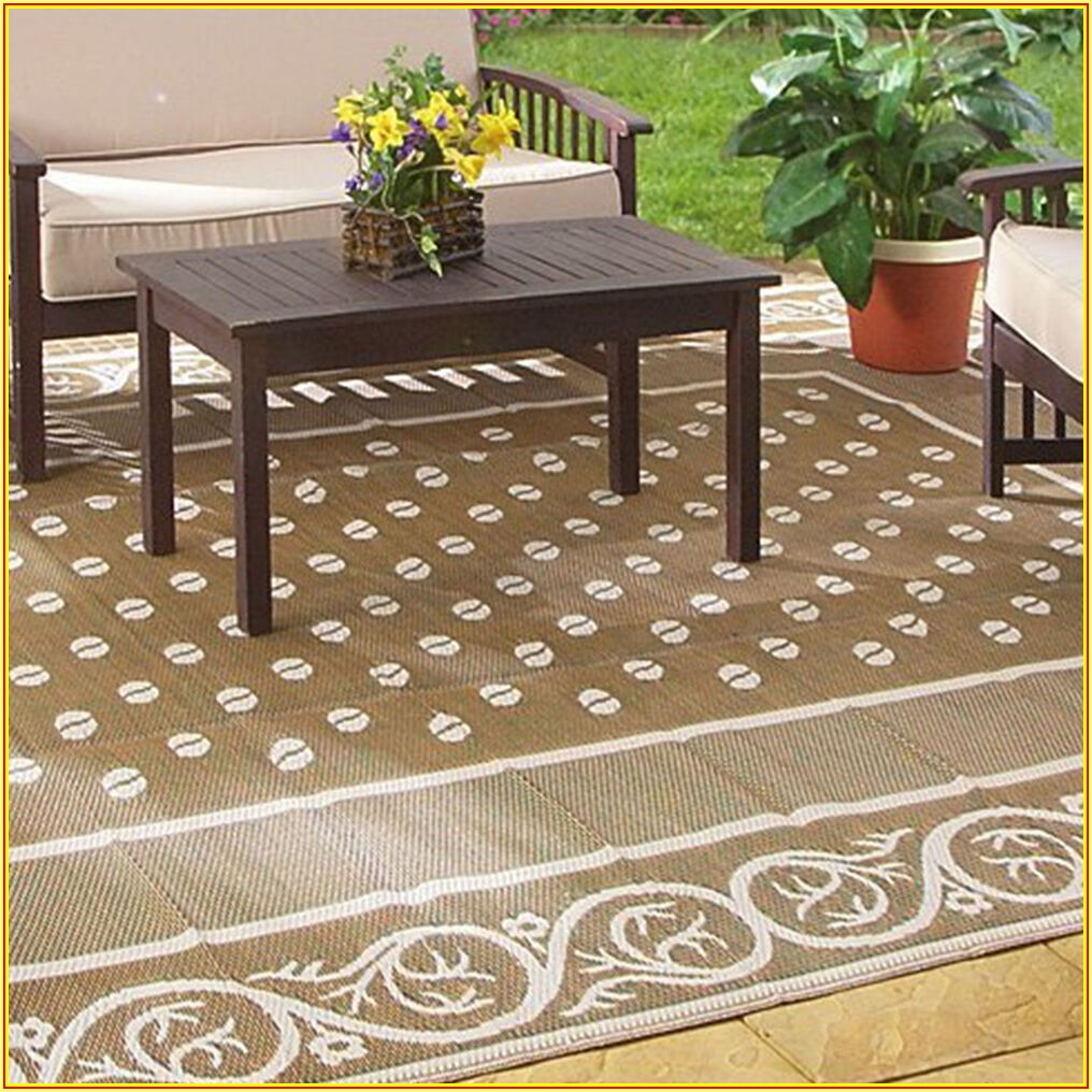 9 X 12 Outdoor Patio Mats