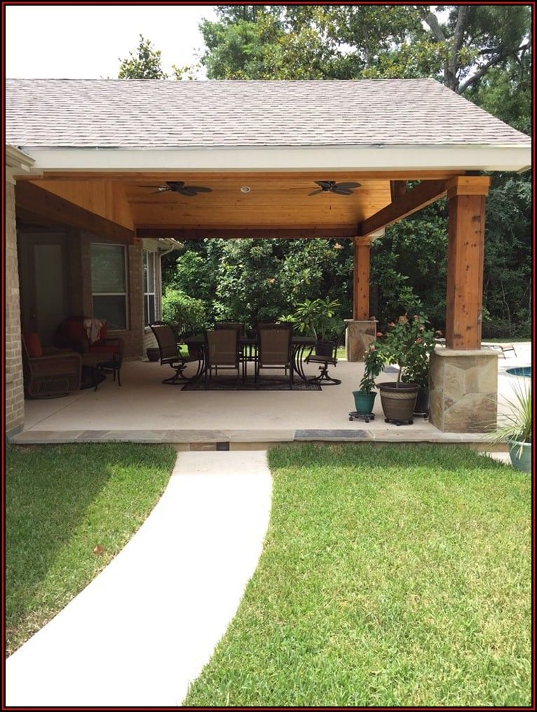 Attach Patio Roof To Existing House