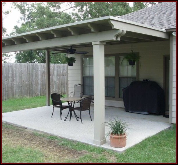 Attach Patio Roof To House
