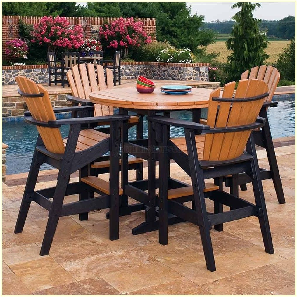 Bar Height Patio Table Plans