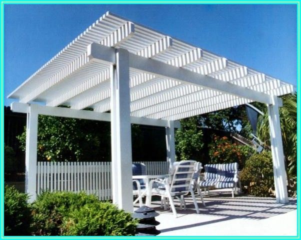 Blueprint Free Standing Patio Cover Plans