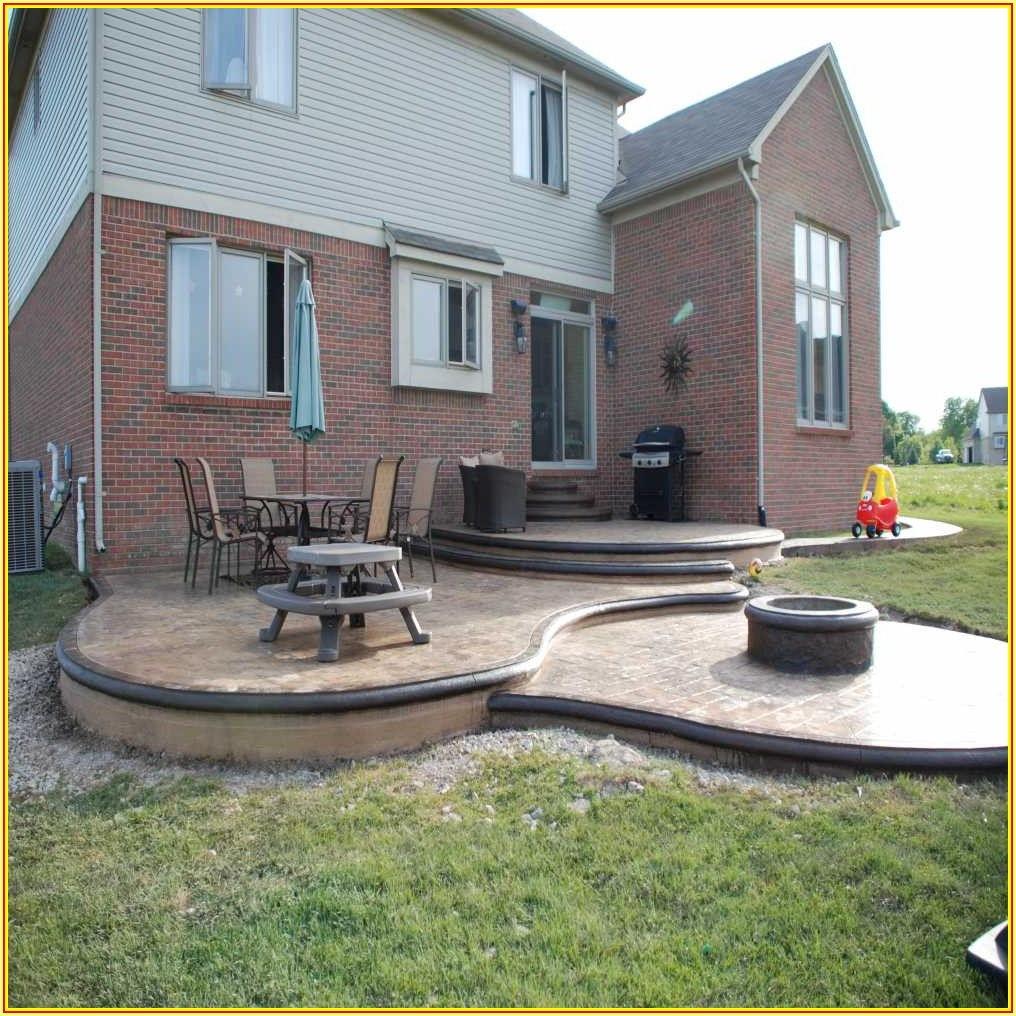 Build Deck Over Concrete Patio